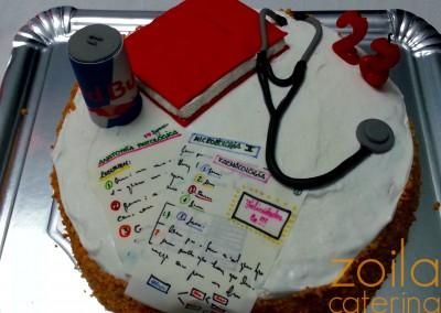 Tarta Estudiante de Medicina