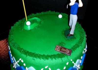 Tarta Golf