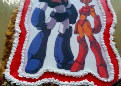 Tarta Mazinger Z y Afrodita