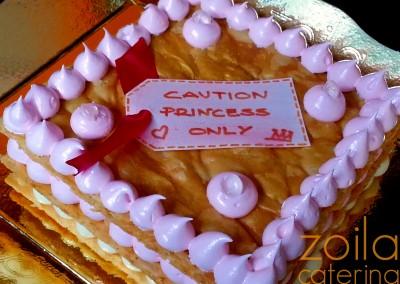 Tarta Princess Only